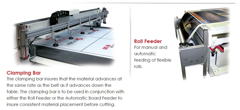 Clamping bar - Roll feeder
